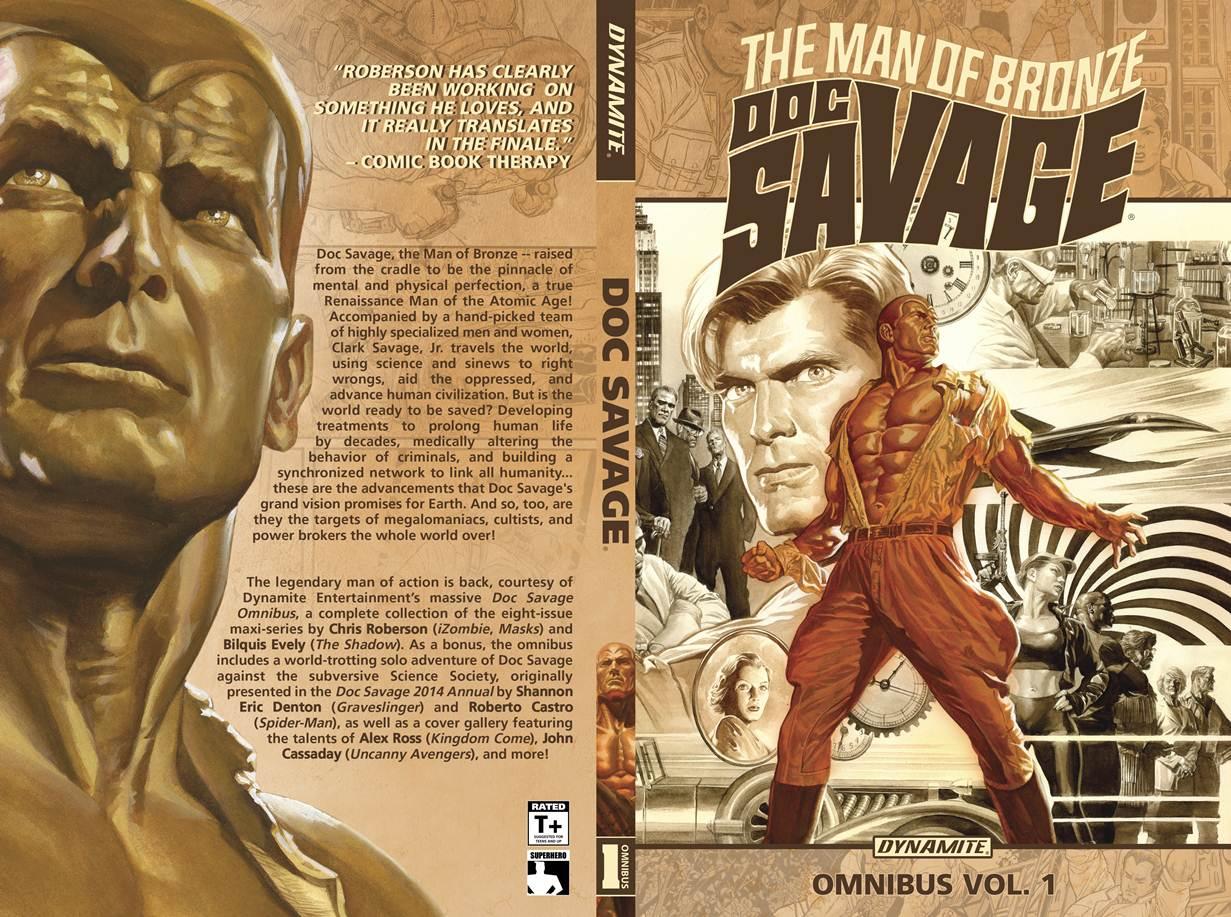 Doc Savage Omnibus Full Cover