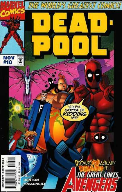 Deadpool issue 10