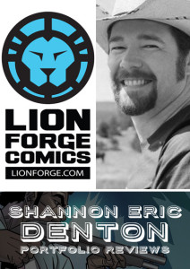 Shannon Eric Denton, guest of ACME on Free Comic Book Day!