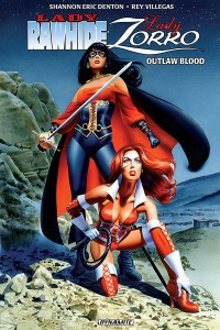 Lady Rawhide Lady Zorro-TP-Cover